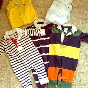 5 piece Polo Bundle (one piece outfits)